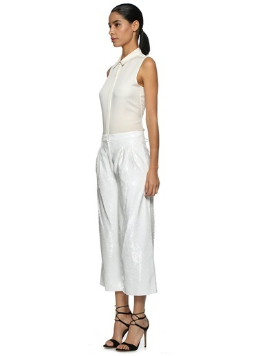 Tibi Pantolon Beyaz